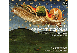 "La Reverdie, I ""Cantori Gregoriani"" Di Milano - The Night Of Saint Nicholas - A Medieval Liturgy For Advent  - (CD)"