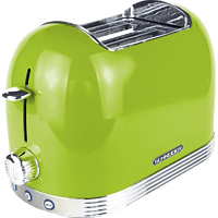 SCHNEIDER SL T2.2 LG Toaster Apfelgrün (850 Watt, Schlitze: 2)