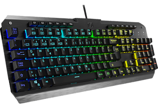 LIONCAST LK300 RGB, Gaming Tastatur, Mechanisch