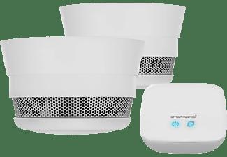 SMARTWARES SH Pro Rauchwarnmelder-Set, Einzelbetrieb, Weiß