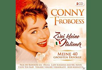 Conny Froboess - Zwei kleine Italiener-Meine 40 größten Erfolge  - (CD)