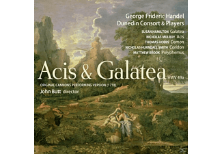 Dunedin Consort And Players - Acis & Galatea - (CD)