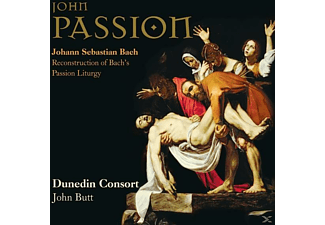 Lunn/Wilkinson/Davies/Butt/Dunedin Consort/+ - Johannespassion - (CD)