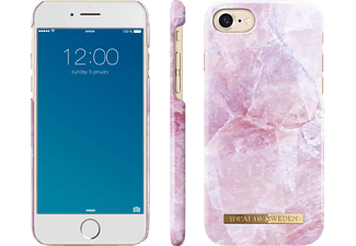 IDEAL OF SWEDEN Fashion, Backcover, Apple, iPhone 6, iPhone 7, iPhone 8, Pink Marble
