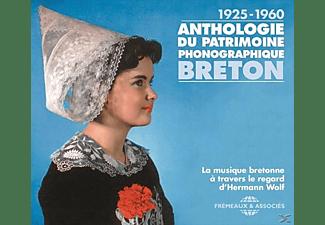 VARIOUS - 1925-1960: Anthologie du patrimoine phonographique breton  - (CD)
