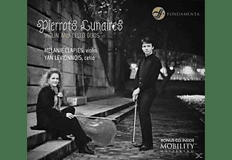 Levionnois, Yan | Clapies, Mélanie - Pierrots Lunaires  - (CD)