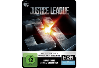 Justice League (exklusives SteelBook®) 4K Ultra HD Blu-ray + Blu-ray