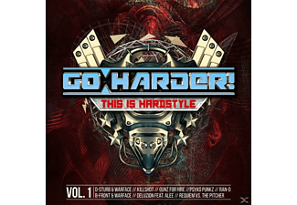 VARIOUS - Go Harder! This Is Hardstyle - (CD)