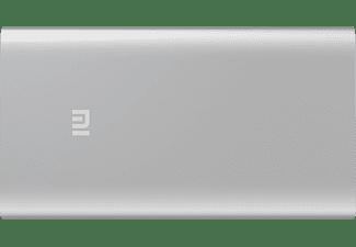 Powerbank - Xiaomi Mi, Polímero de litio, 5000mAh, Plata
