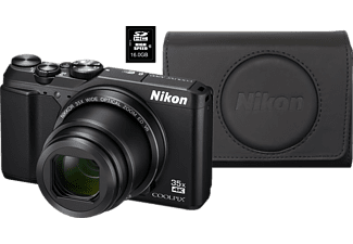 NIKON Coolpix A900 Zwart + 16GB + Case