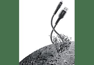 CELLULAR LINE Extreme Cable, Ladekabel, 1,2 m, Schwarz