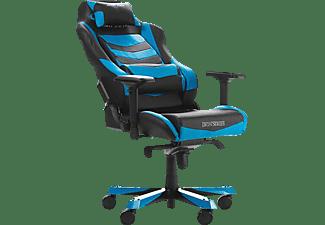 DXRACER Iron I166 Gaming Chair, Black/Blue Gaming Stuhl, Schwarz/Blau