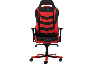 DXRACER Iron I166 Gaming Chair, Black/Red Gaming Stuhl, Schwarz/Rot
