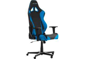 DXRACER Racing R0 Gaming Chair, Black/Blue Gaming Stuhl, Schwarz/Blau