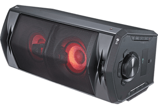 Altavoz gran potencia - LG FJ5, 220 W, Efectos DJ, Efectos vocales, Bluetooth, USB, Aux, Negro