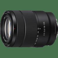 SONY SEL18135 18 mm-135 mm f/3.5-5.6 OSS, ED, Circulare Blende (Objektiv für Sony E-Mount, Schwarz)