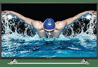 STRONG Fernseher SRT 55UA6203 139 cm (55 Zoll) 4K Ultra HD Smart-TV mit Triple Tuner [Netflix, Youtube]