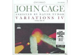 John Cage - Variations IV,Vol.2 (LP)  - (Vinyl)