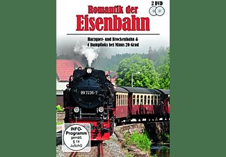 - Romantik der Eisenbahn - Harzquer- und Brockenbahn & 4 Dampfloks bei Minus 20 Grad  - (DVD)