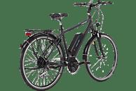 FISCHER - FAHRRAD ETH 1801 Trekkingrad (28 Zoll, 50 cm, City Rahmen, 396 Wh, Dunkel anthrazit matt)
