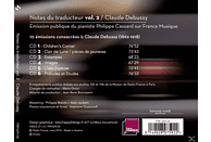 Philippe Cassard - Notes du traducteur,Vol.2: Debussy [CD]