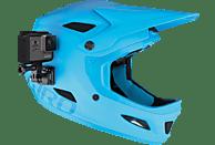 GOPRO Front- und Seiten-Helmhalterung, Halterung, Schwarz, passend für alle GoPro Kameras