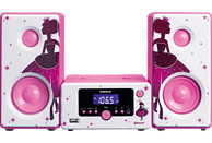 LENCO MC-020 Kompaktanlage (Pink)