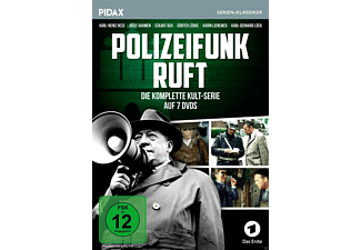 Polizeifunk ruft - Season 1-4 Komplettbox DVD
