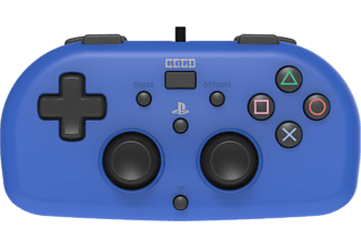 HORI Wired Mini Gamepad PS4 Blauw