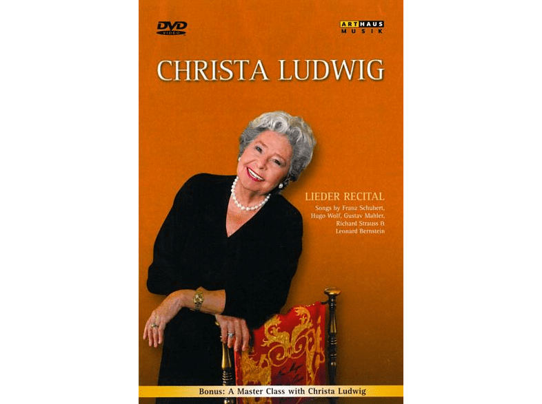 - Christa Ludwig - Lieder Recital [DVD]