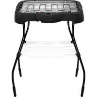 OK. OSG 3210 Elektrogrill, Schwarz (2000 Watt)