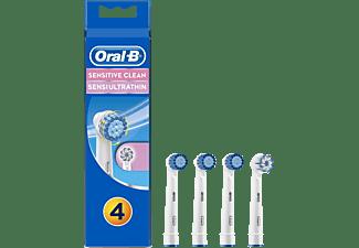 ORAL-B Sensitive 4er Aufsteckbürsten