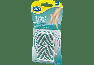 SCHOLL Velvet Smooth™ Nachfüllrollen für Hornhautentferner Weiß/Grün