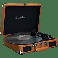 CLASSIC PHONO TT-10BN Plattenspieler (Braun)