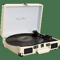 CLASSIC PHONO TT-11WH Plattenspieler (Weiß)