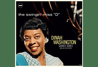 "WASHINGTON DINAH, QUINCY JONES ORCHESTRA - THE SWINGIN MISS ""D"" (LTD.180G VINYL)+3 BONUS  - (Vinyl)"