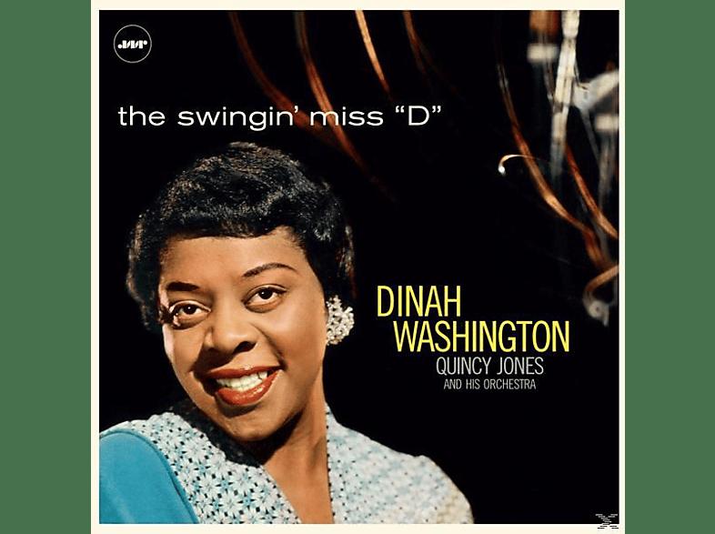 "WASHINGTON DINAH<multisep/>QUINCY JONES ORCHESTRA - THE SWINGIN MISS ""D"" (LTD.180G VINYL)+3 BONUS [Vinyl]"
