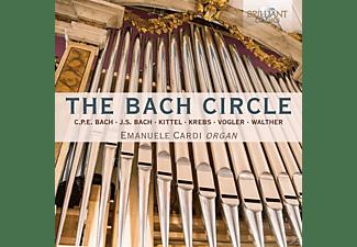 Emanuele Cardi - The Bach Circle  - (CD)