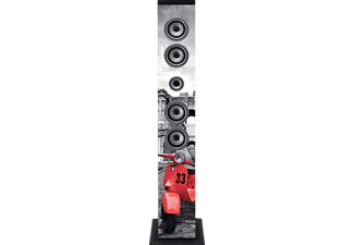 LENCO IBT 6 ROMA Bluetooth Lautsprecher, mehrfarbig