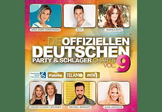 VARIOUS - Die offiziellen dt.Party & Schlager Charts Vol.9  - (CD)