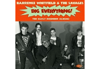 Barrence & The Savages Whitfield - DIG EVERYTHING! THE EARLY ROUNDER ALBUMS  - (CD)