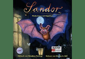 Dorothea Flechsig - Sandor: Fledermaus mit Köpfchen  - (CD)