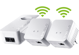 DEVOLO dLAN 550 WiFi - Network Kit (Weiss)