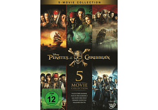 Pirates of the Caribbean 1 - 5 DVD