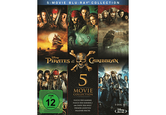 Pirates of the Caribbean 1 - 5 Blu-ray