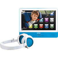 LENCO TDV901BU Tragbarer DVD-Player, Blau