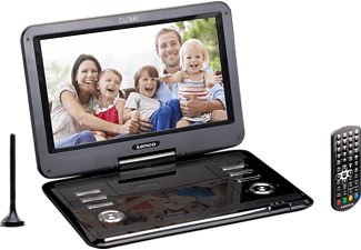LENCO DVP-1273 Tragbarer DVD-Player, Schwarz