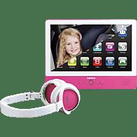 LENCO TDV901PK Tragbarer DVD-Player, Pink