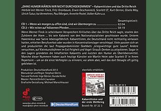 VARIOUS - Ohne Humor Wären Wir Nicht Durchgekommen   - (CD)