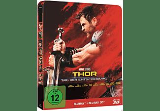 Thor: Tag der Entscheidung Steelbook Edition [3D Blu-ray (+2D)]